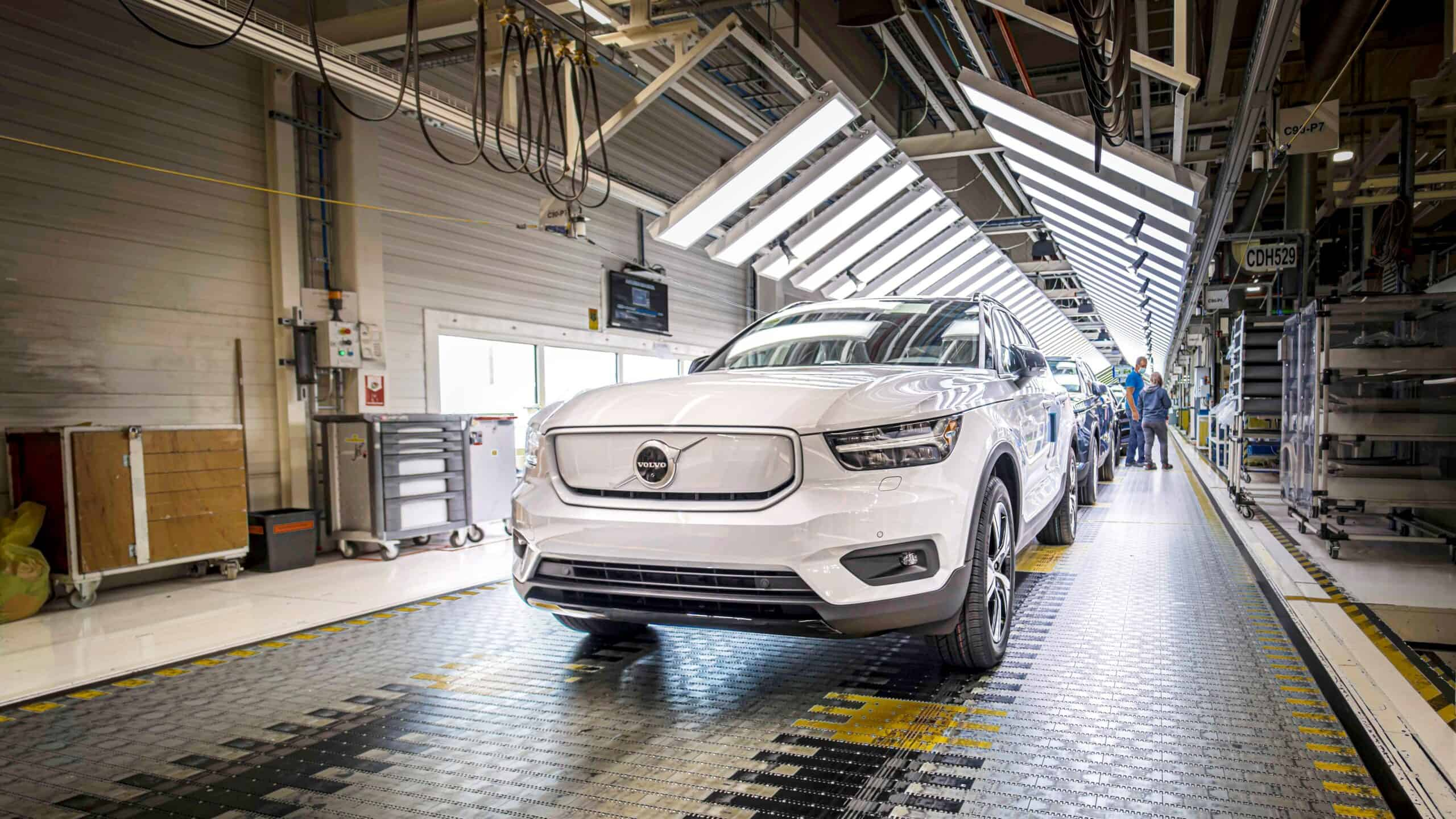 Volvo XC40 Recharge production in Ghent, Belgium
