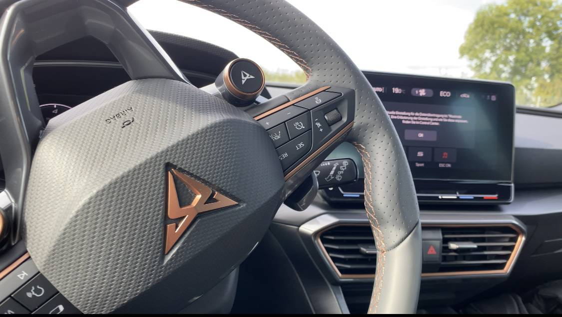 Cupra Leon e-Hybrid (245 PS), Innenraum