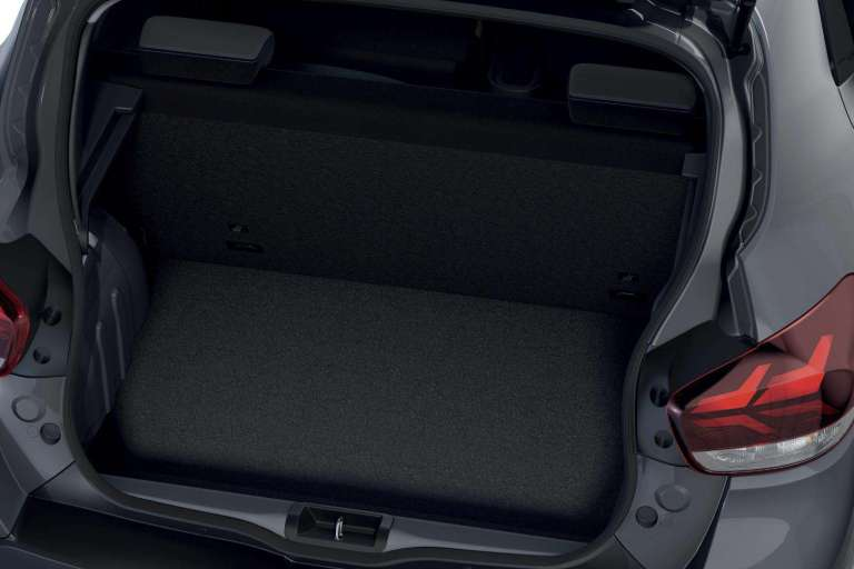 Der neue Dacia Spring Electric kommt, Kofferraum