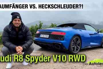 2020 Audi R8 Spyder V10 RWD (540 PS) - Traumfänger vs. Heckschleuder? - Fahrbericht   Review   Test