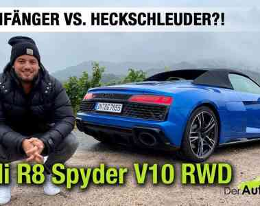 2020 Audi R8 Spyder V10 RWD (540 PS) - Traumfänger vs. Heckschleuder? - Fahrbericht | Review | Test