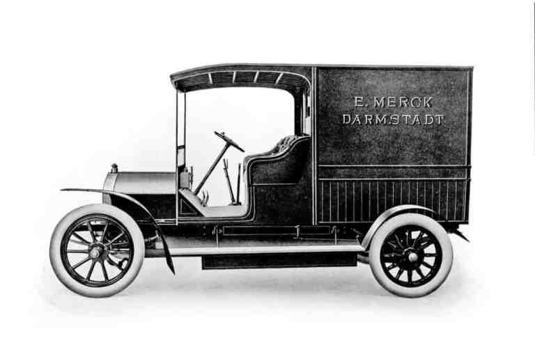 Opel von 1907.