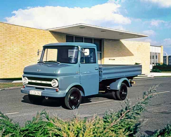 Opel Blitz von 1965.