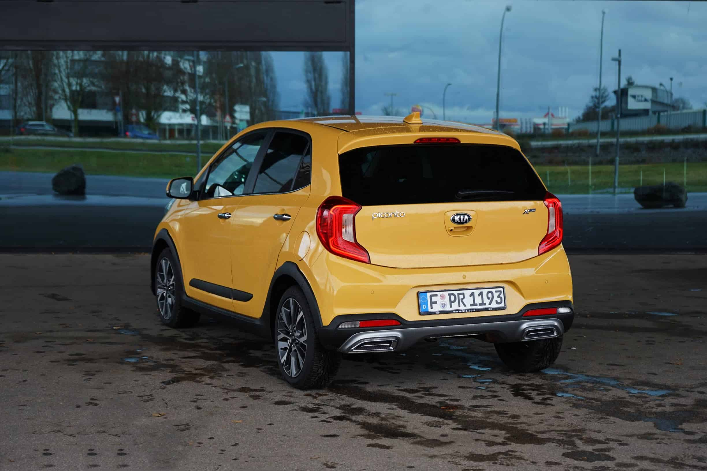 (2021) Kia Picanto X-Line - Honigbiene oder Mini-Tiger? - Test I Review I POV