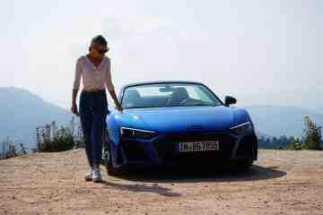 Mit 540 PS durch den Schwarzwald I Was kann der Audi R8 V10 RWD (2020)? Autobahn vs. Blackforest