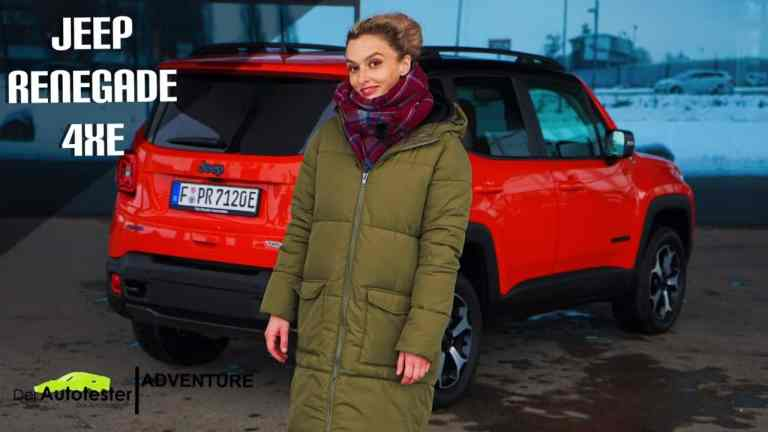 2021 Jeep Renegade Trailhawk PHEV 4xe mit 240 PS - Flamingo oder Kompakt SUV? - Review I Offroad