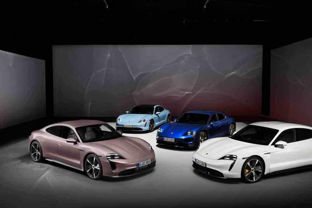 #Porsche speckt den #Taycan ab