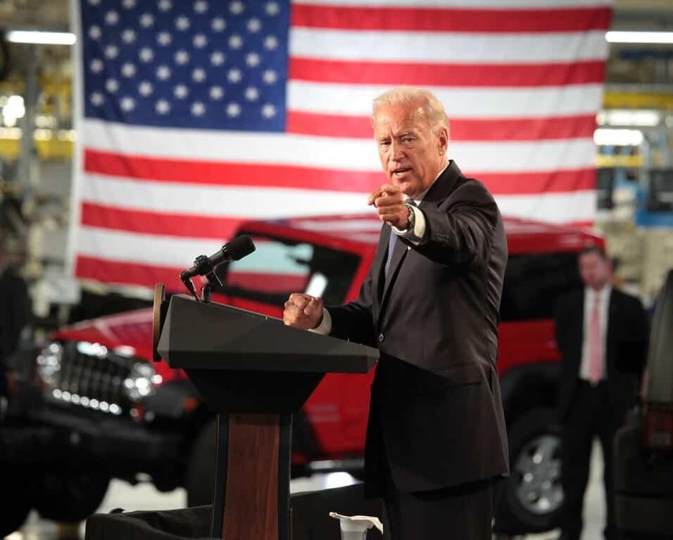 Joe Biden will die US-Autoindustrie stärken.