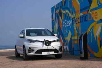 Renault sponsert die Wallbox für den Zoe