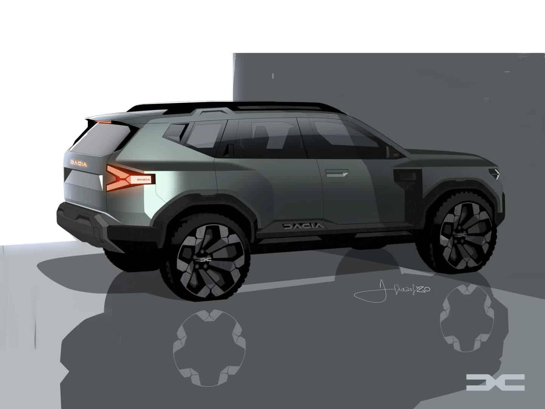 Bigster, Concept Car, Studie, SUV, Dacia, 2021