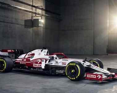 Alfa Romeo Racing ORLEN zeigt den neuen C 41