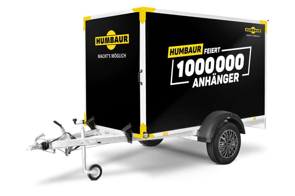 Humbaur Maximus Deluxe Limited Edition. Humbaur Startrailer H 132513 Black Edition HK 132513-15 HTK 3000.31 HT 254118.