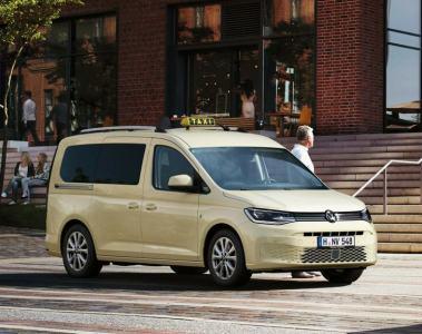 VW Caddy erstmals als Taxi