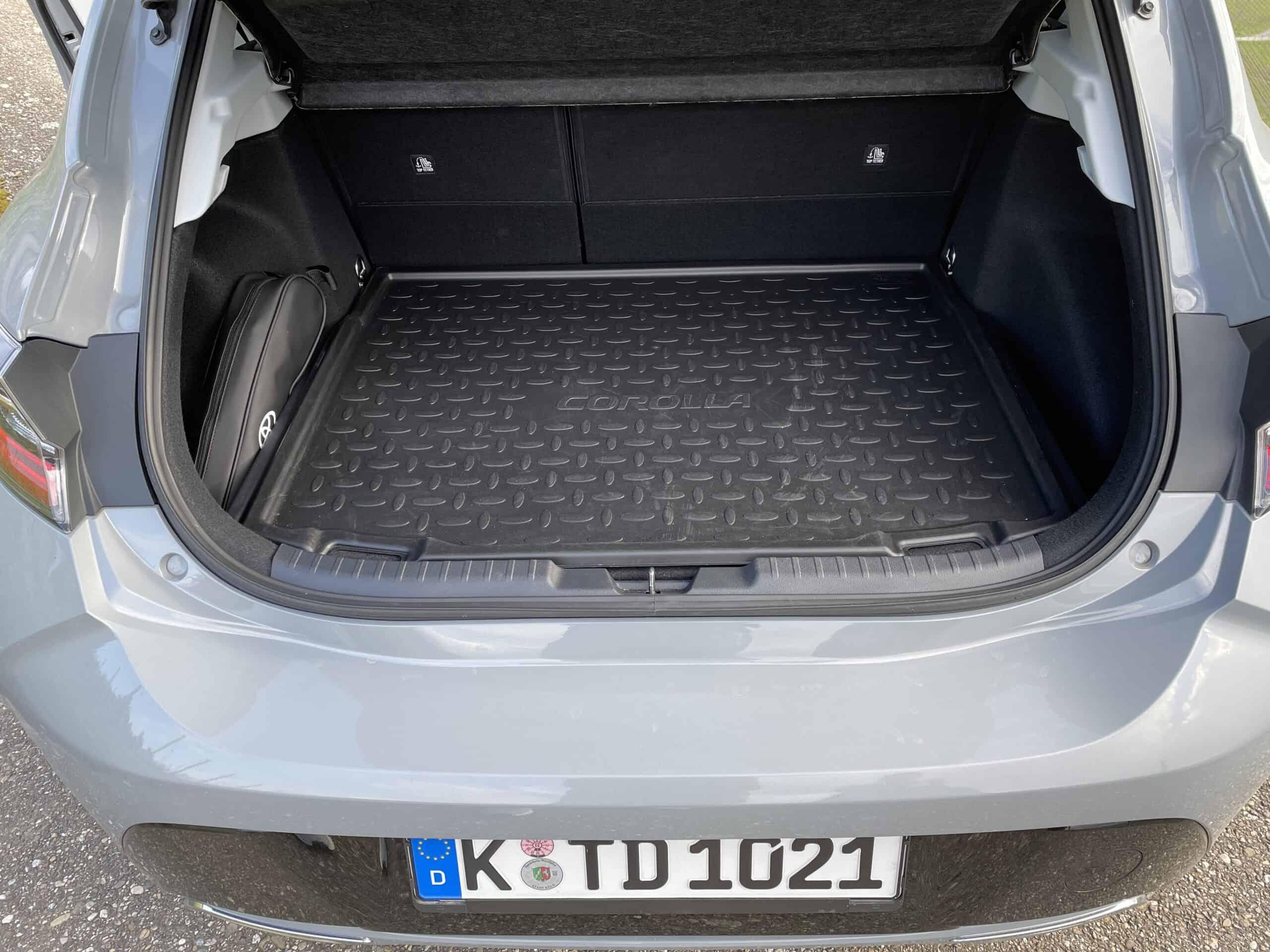 Toyota Corolla 2.0 Hybrid, Kofferraum