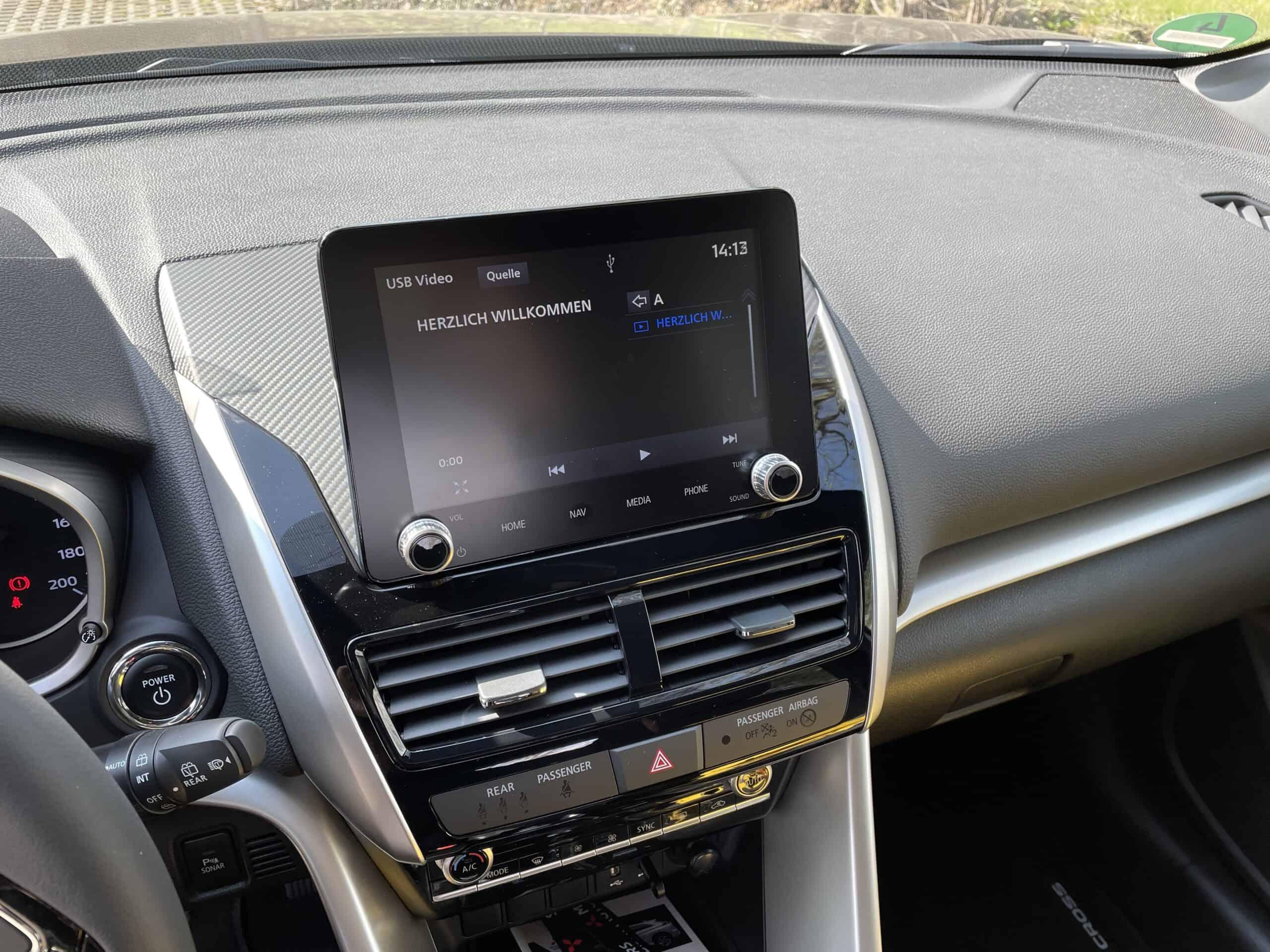 Mitsubishi Eclipse Cross mit Plug-in-Hybrid-Antrieb (2021