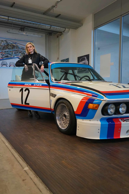 50 Jahre BMW 3.0 CSL, NinaCarMaria