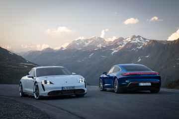 Update für den Porsche Taycan