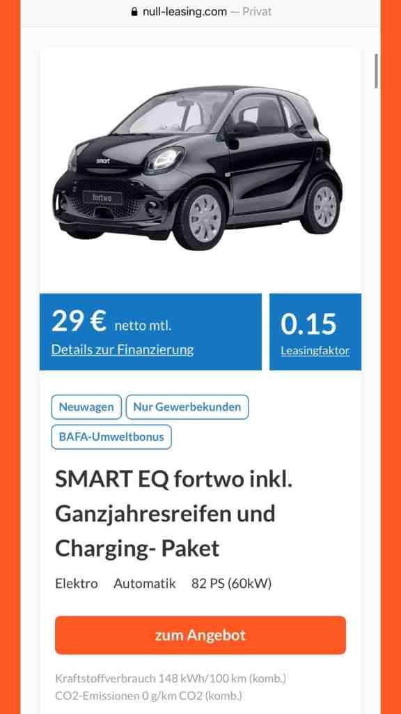 Auto Leasing unter 100 Euro - Kann das seriös sein?