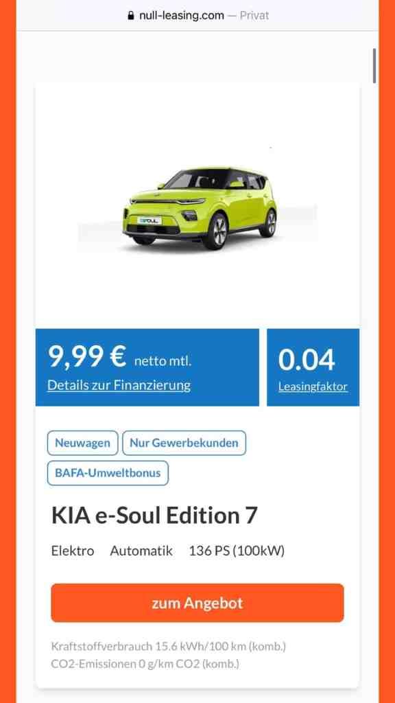#Auto Leasing unter 100 Euro - Kann das seriös sein?