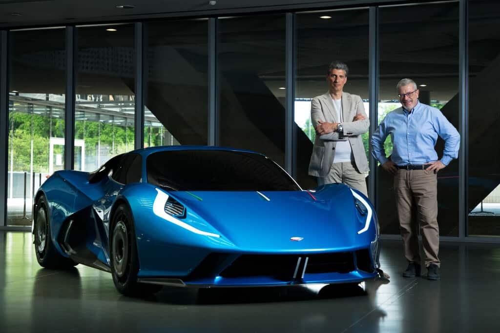 Fulminea mit Firmenchef Gianfranco Pizzuto und Geschäftsführer Roberto Olivo.