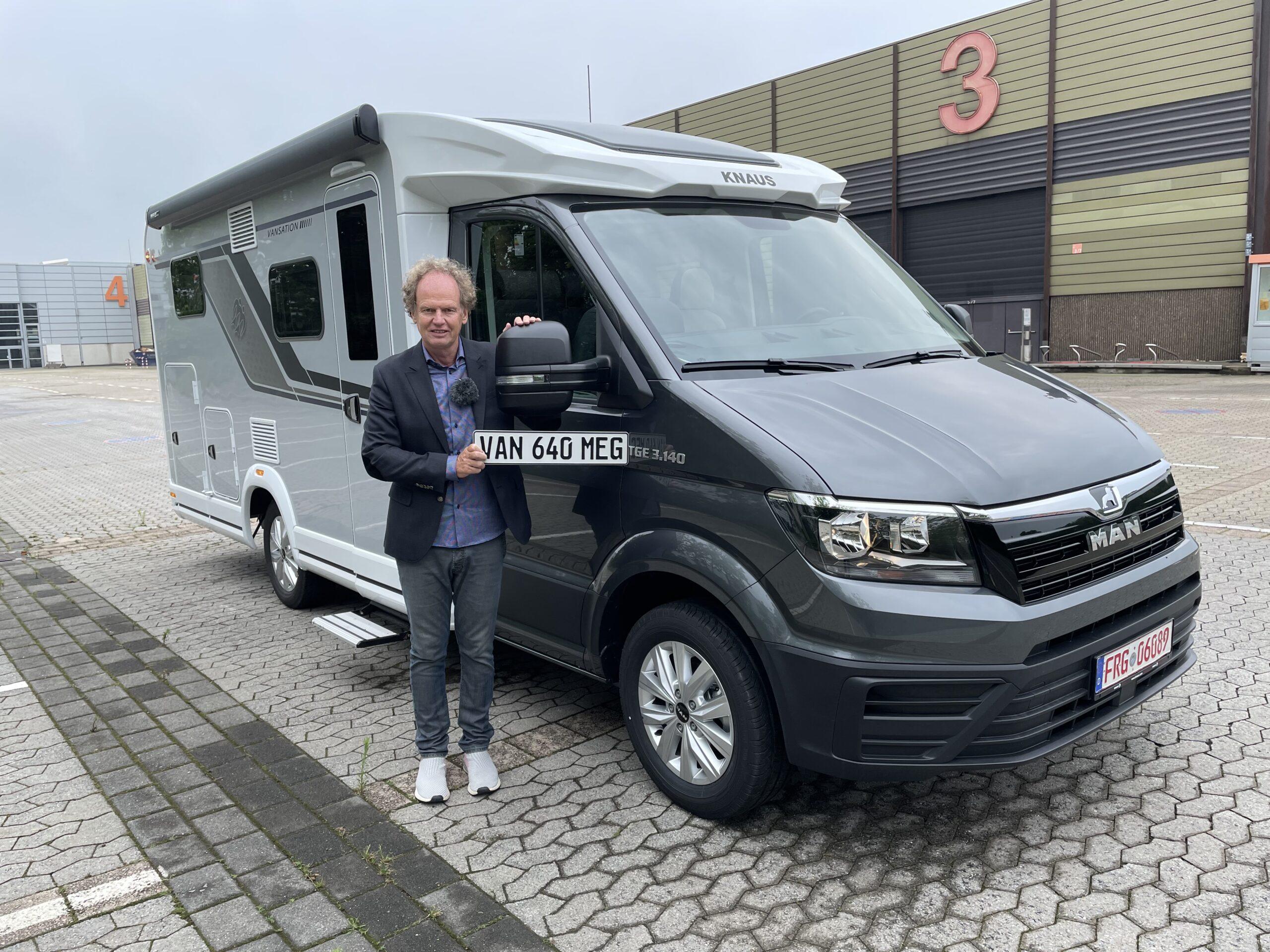 Knaus Van Ti 640 MEG Vansation auf MAN Basis