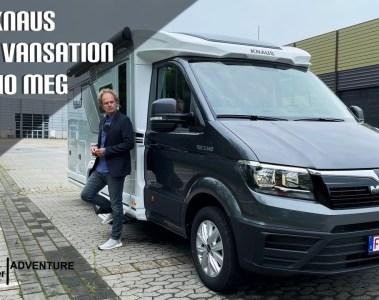 (2022) Knaus Van Ti 640 MEG Vansation - Premium Chassis von MAN für den Van Ti - Erste Fahrt