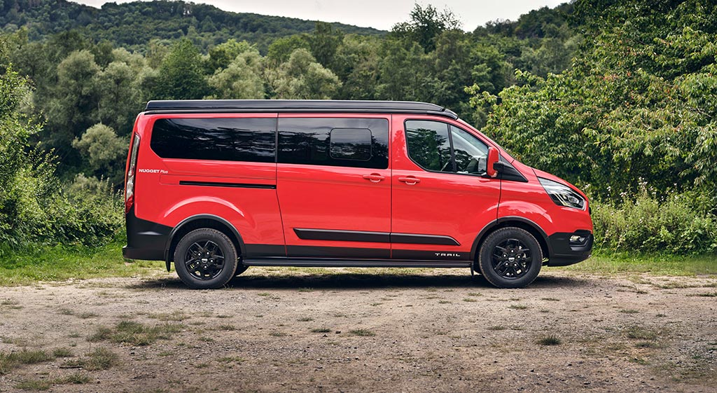 Ford Nugget Trail - Outdoor-Variante