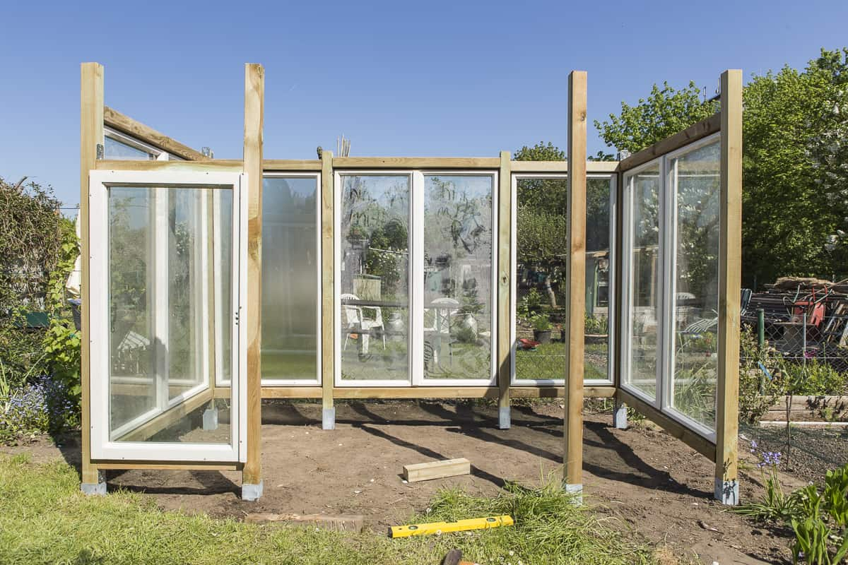 Bauanleitung Tomatengewächshaus