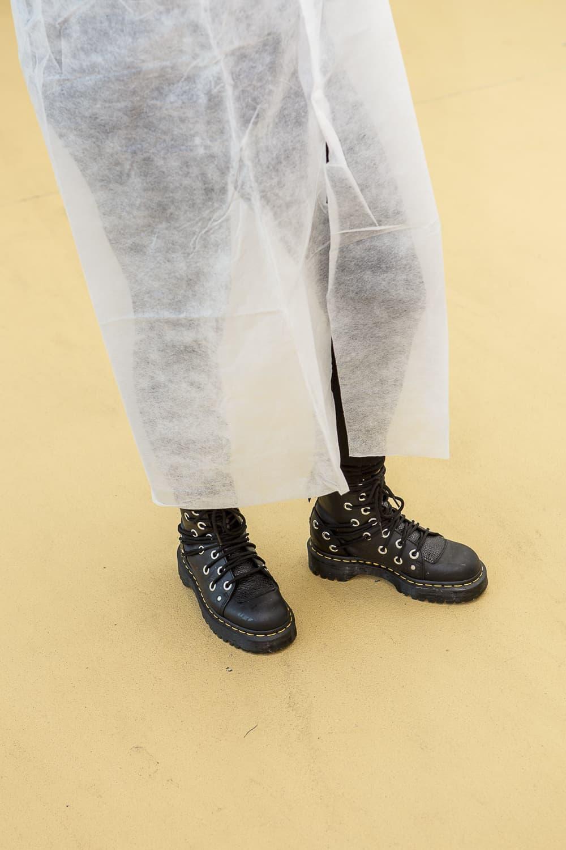schutzkleidung wegen hygienestandard