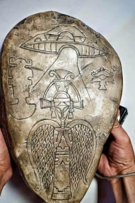 Ritualstein der Azteken