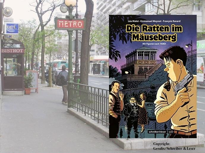 """""""Die Ratten im Mäuseberg"""" von Léo Malet, Emmanuel Moynot und François Ravard"""