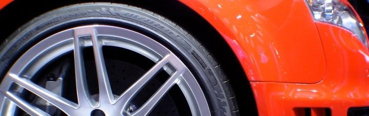 Audi seitenansicht auschnitt reifen und felge