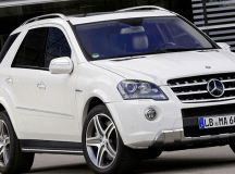 Der Mercedes ML 63 AMG