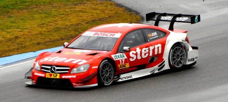 Sechszehnter wurde DAniel Juncadella im stern AMG Mercedes C-Coupe