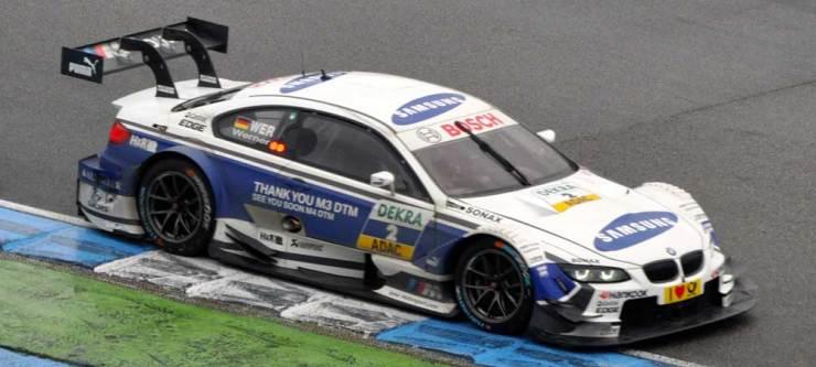 Nummer 13 ist Dirk Werner im BMW M3 DTM, Team Schnitzer