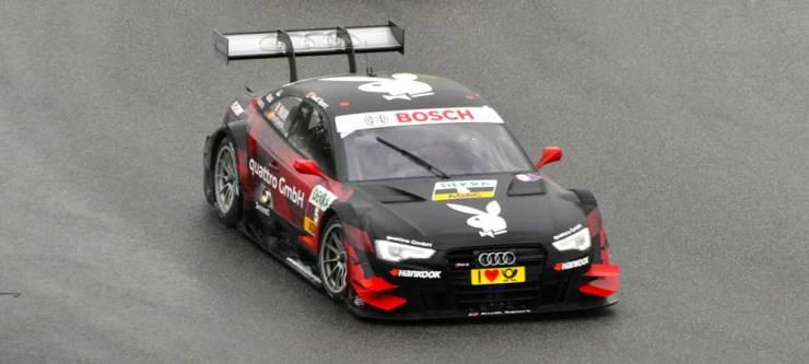 Einundzwanzigster wurde Edoardo Mortara im Audi RS 5 DTM, Team Rosberg