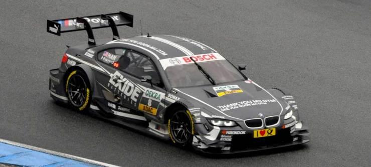 Joey Hand wurde mit dem BMW M3 DTM, Team RBM, Zwölfter
