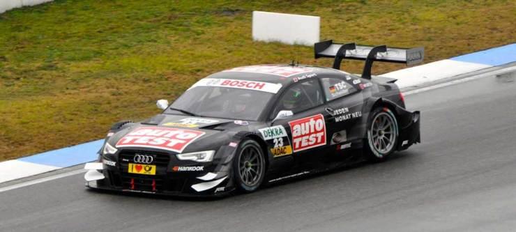 Timo Scheider wurde Zehnter mit seinem Audi RS 5 DTM, Team Abt