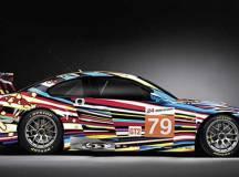 Noch der aktuellste Sprößling in der Art Car Familie. Jeff Koons legte 2010 Hand an diesen BMW M3 GT2.