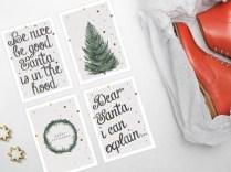 Give Away, Nikolaustag, Nikolaus, Geschenk, Verlosung, Kusntdruck, Druck, Poster, Postkarte, Geschenkkarte, Typografie, Handlettering, eichnung, Skizze, Zapfen, Weihanchten, Advent, Dekoration, Deko, Bilder, Gemälde, Bilderrahmen
