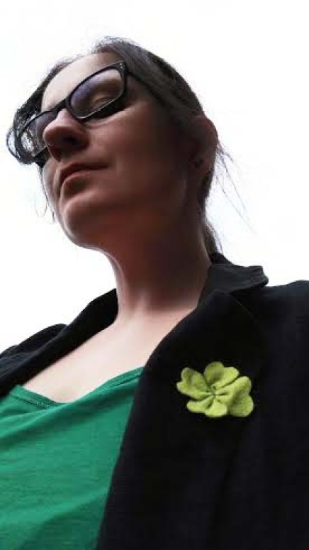 Selfie DIY St Patricks DAY Felt Shamrock