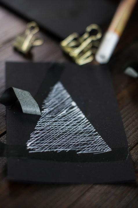 diy-einfache-weihnachtskarten-schwarz-weiss-gold-sticken-bestickt-christmascards-1