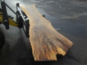Tischplatte nach mass Nussbaum B-00018