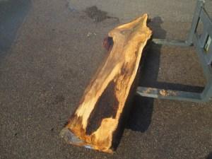 Tischplatte nach mass Nussbaum B-00019