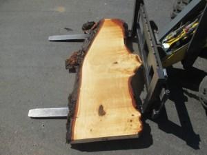 Tischplatte nash mass Kastanie B-00121