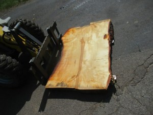 Tischplatte nach mass Kastanie B-00209