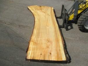 Tischplatte aus Massivholz Pappel S-00057