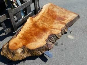 Tischplatte nach mass Kastanie B 00304