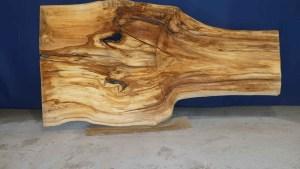 Tischplatte aus Massivholz Linde C/W 005