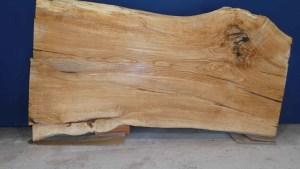 Tischplatte aus Massivholz Linde C/W 007